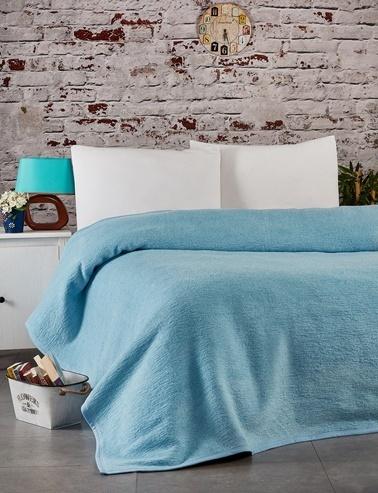 Komfort Home Tek Kişilik Battaniye Renkli